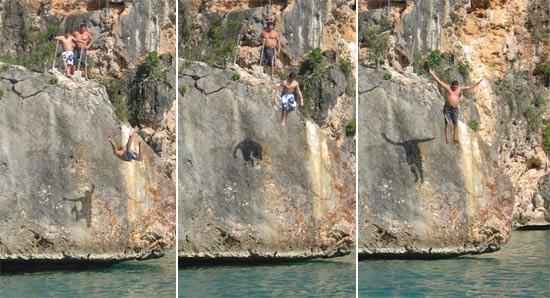 little bay anguilla rock jump
