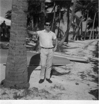 Anguilla palm tree 1969