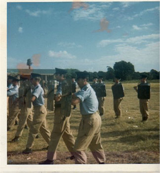 Police Display at Ronald Webster Park 1969