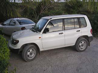 Anguilla car rental 4x4