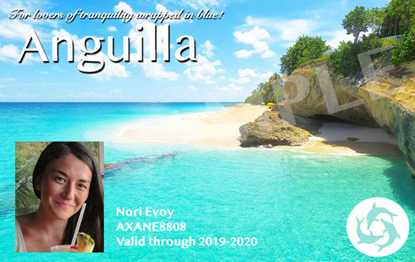 the anguilla card