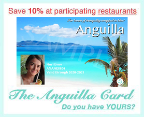 anguilla card restaurants