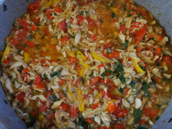 anguilla saltfish ready to serve