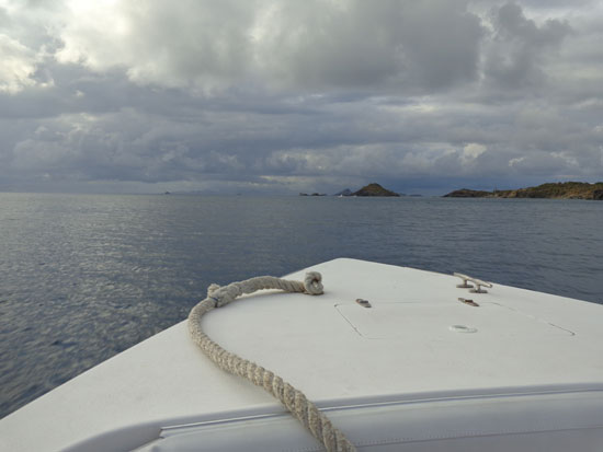back to anguilla from st. barths on calypso charters