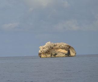 approaching st. barths caribbean