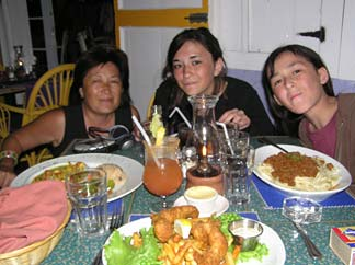 Anguilla dining Ripples meal