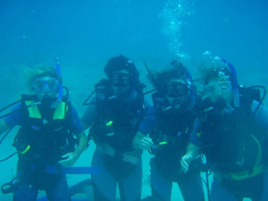 Anguilla diving, open water certification