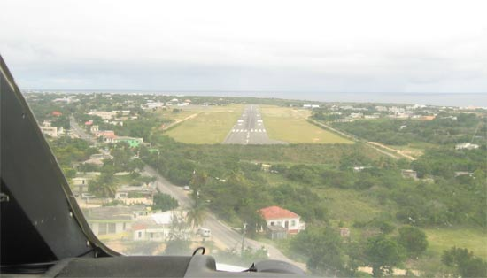 anguilla from the sky scrub island