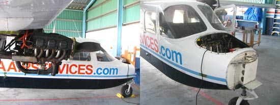 anguilla charter flight maintenance