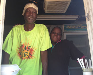 Anguilla food van
