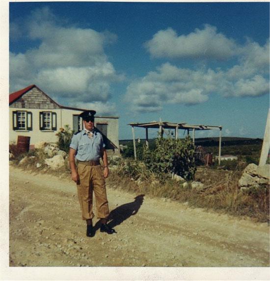 British Police in Anguilla 1969