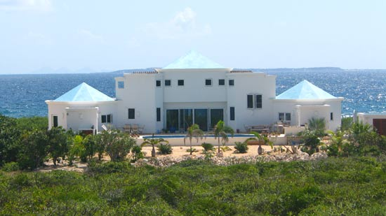 anguilla home caribbean tour facing caribbean sea