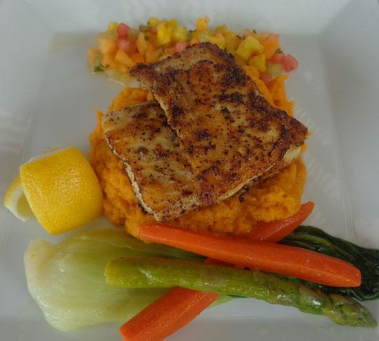 Anguilla hotels, restaurant, Viceroy, fresh fish