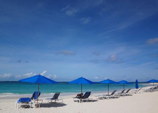 the beach at shoal bay villas hotel in anguilla