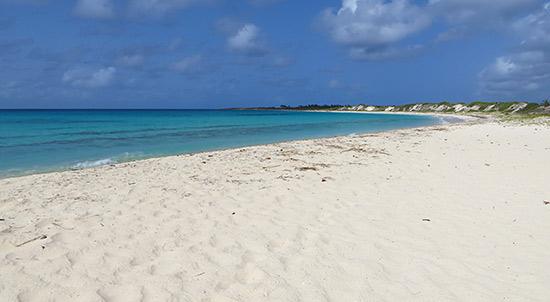cove bay a kitesurfing spot in anguilla