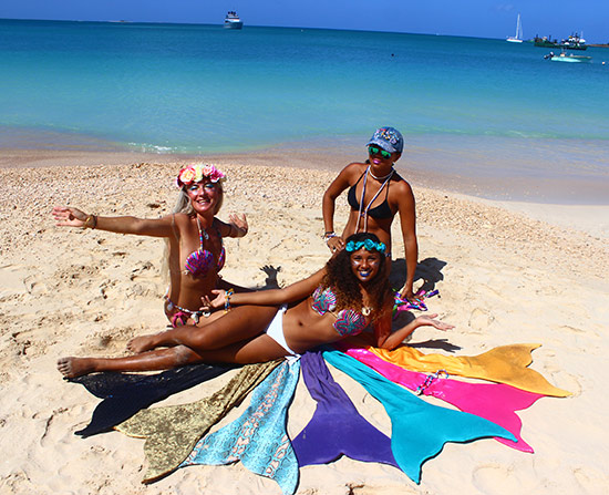 mermaids in Anguilla
