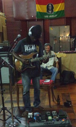 Anguilla music, British Dependency, Tuff Gong Studios, band, guitar,Ruel Richardson
