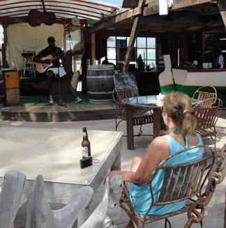 Anguilla music, live music, Omari Banks, The Dune Preserve
