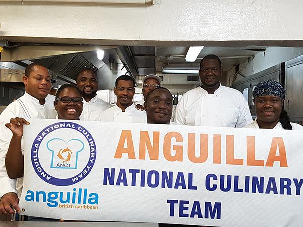 anguilla international culinary team