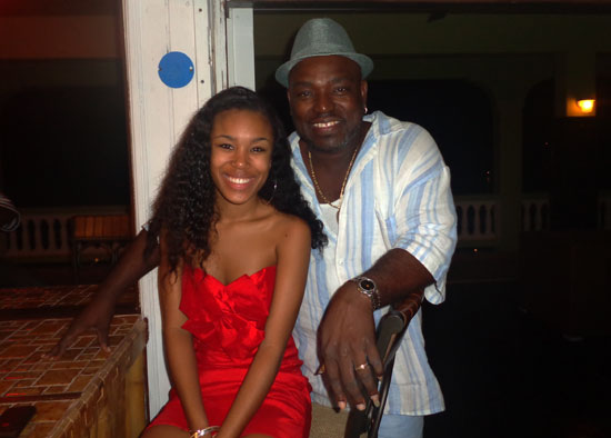 Anguilla nightlife, Anguilla nightclub, Darvin's Place, Darvin Mussington, Deanna Mussington, live music