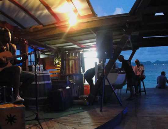 Anguilla nightlife, Anguilla live music, The Dune Preserve, Bankie Banx