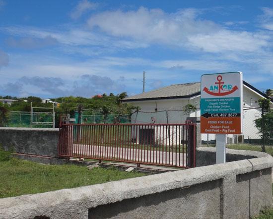 ankor farms sign in anguilla