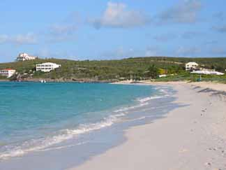 Anguilla real estate is plentiful along the searocks that surround Shoal Bay East