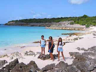 Limestone Bay, Anguilla is a more remote yet spectacular beach.