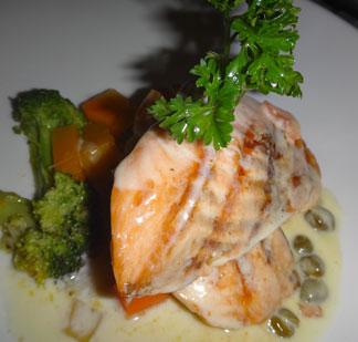 e's oven salmon special