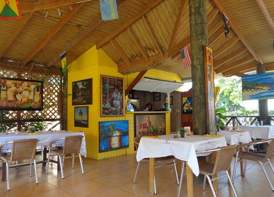 Anguilla food, Anguilla restaurants, Andy's Restaurant, kid-friendly, Anguilla lunch, Anguilla dinner