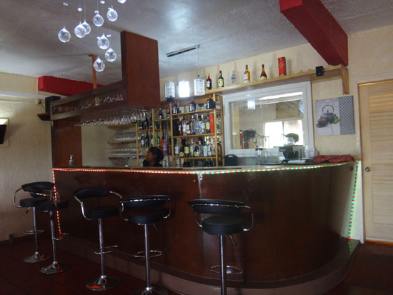 bar at spice of india restaurant