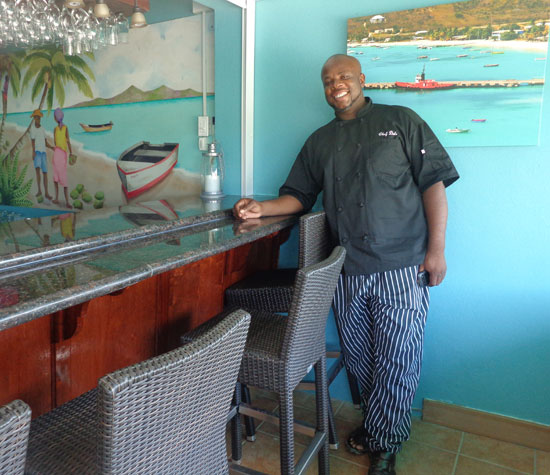 Anguilla hotels, Anguilla restaurants, Tasty's Restaurant, Chef Dale Carty, tapas bar, new bar