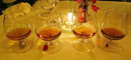 anguilla rums at Hibernia restaurant in Island Harbour