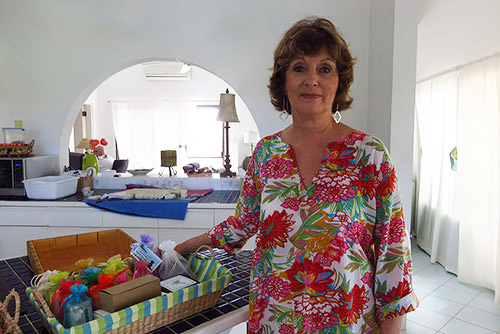 Carrol Shannon of Caribbean Soaps and Sundries