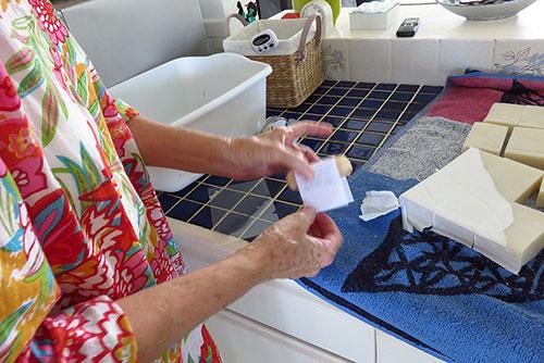 anguilla soaps hot process packaging