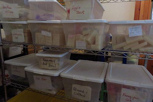 anguilla soaps storage set