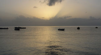 silver anguilla sunset