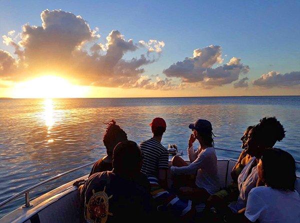 anguilla sunsets aboard gotcha