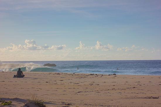 beautiful surf setting in axa