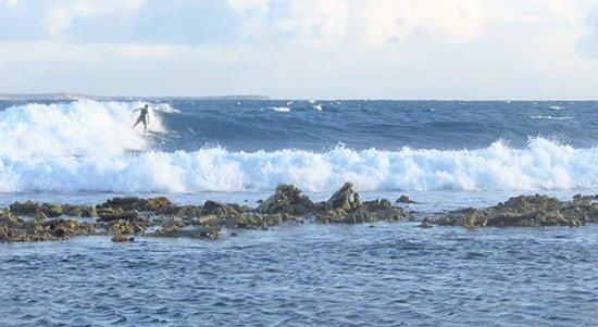 surfing in anguilla