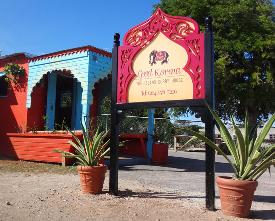 Anguilla, Good Korma, curry, take-out