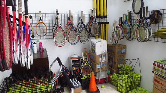 storage room anguilla tennis academy