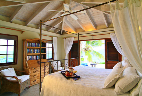 bedroom suite inside three dolphins