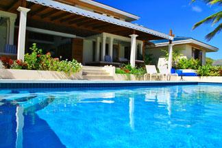 pool at three dolphins anguilla
