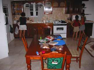 anguilla villa kitchen