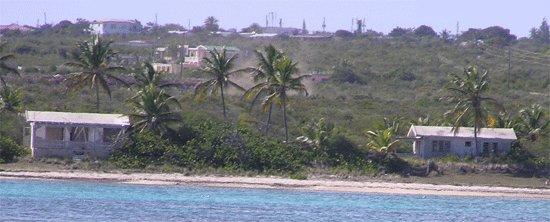 Abandoned Anguilla villas