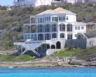 Michael Dell's Anguilla Mansion