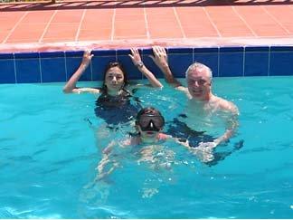 Anguilla swimming