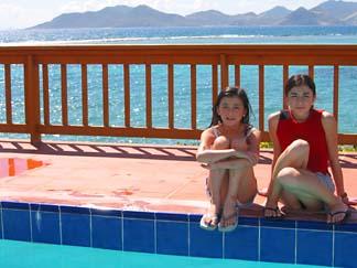 Anguilla Villas Little Harbor Pool With Yuki