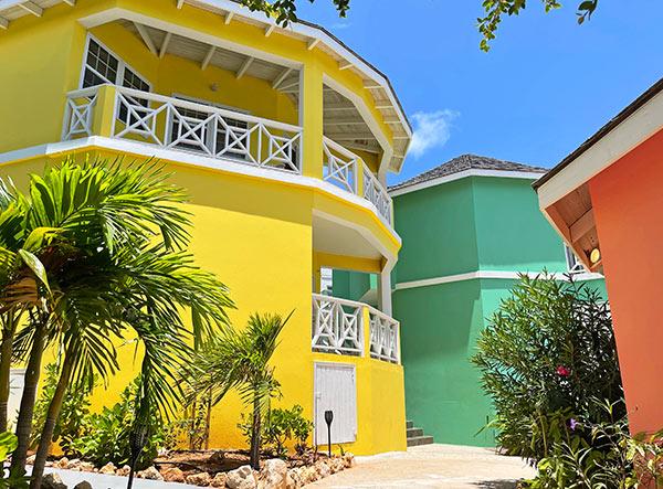 sunshine building at arawak beach club